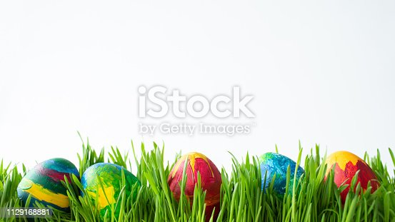 930928526 istock photo Easter eggs 1129168881