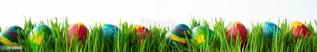 930928526 istock photo Easter eggs 1129168900