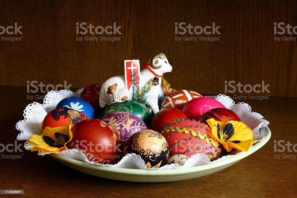 Ovos de Páscoa - foto de acervo