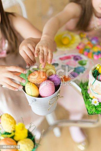 istock Easter eggs 464638716