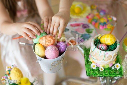 istock Easter eggs 464927654