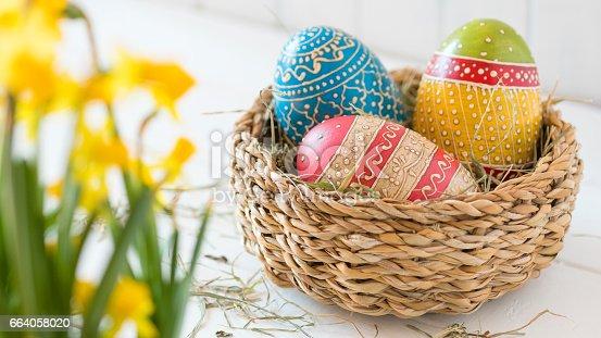 922658520 istock photo Easter Eggs 664058020