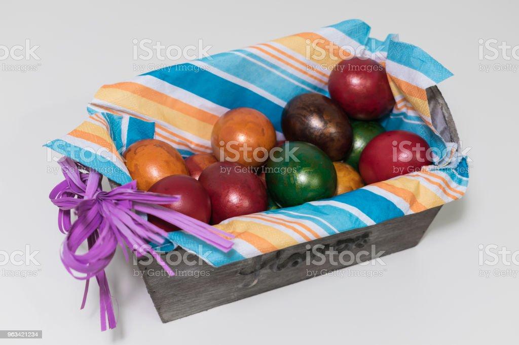 Easter eggs - Zbiór zdjęć royalty-free (Bez ludzi)