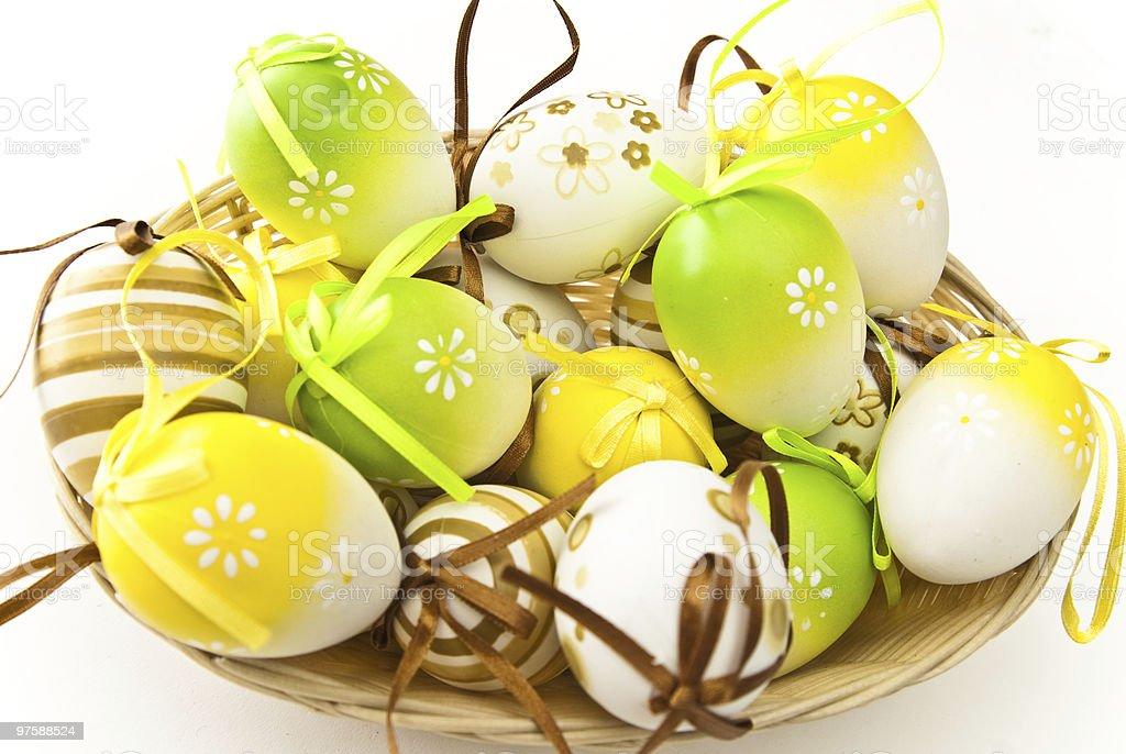 Œufs de Pâques photo libre de droits