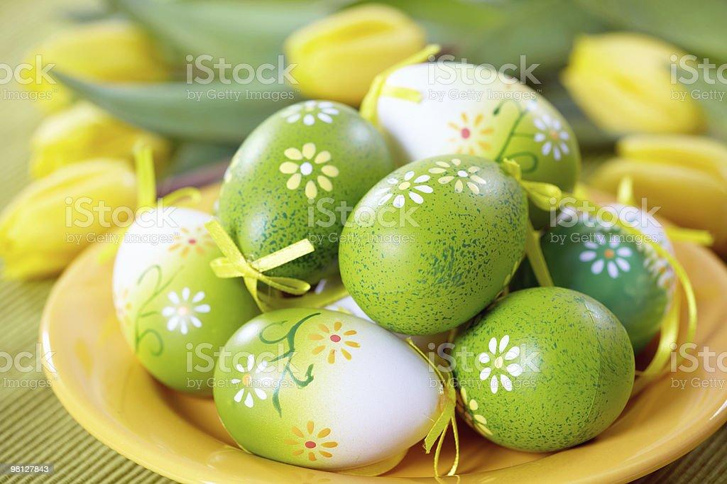 Uova di Pasqua foto stock royalty-free