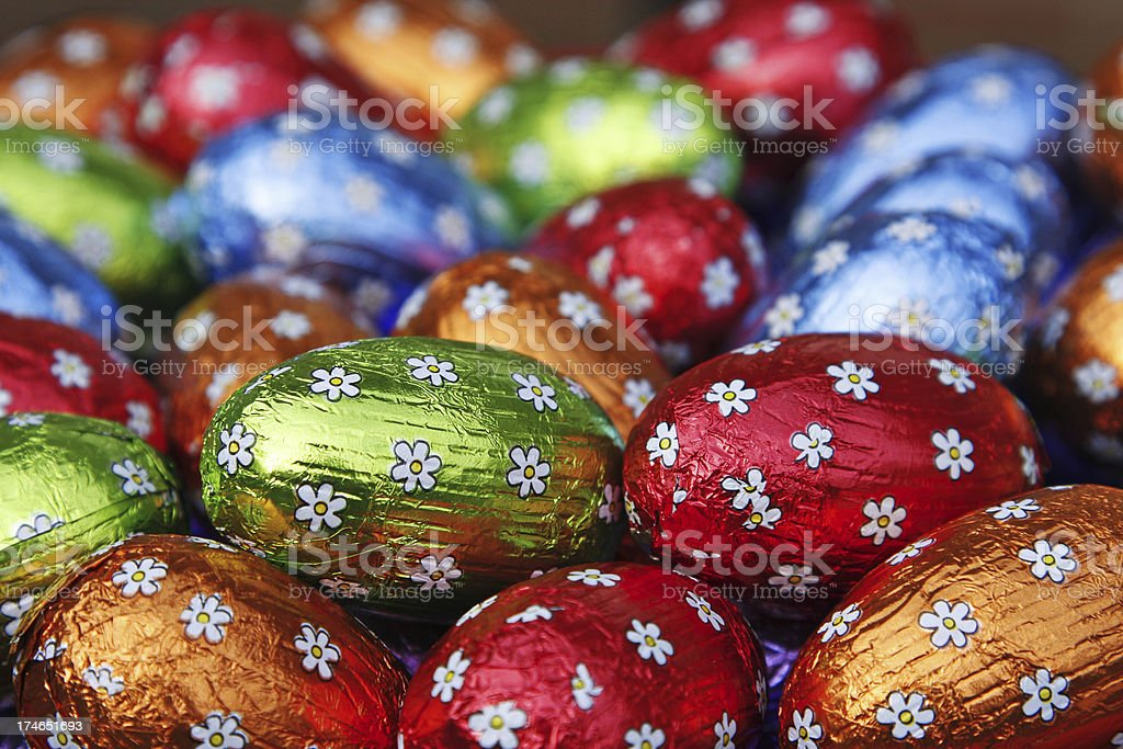 Easter eggs # 20 XL royalty-free stock photo