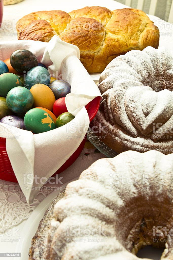 Easter Feast royalty-free stock photo