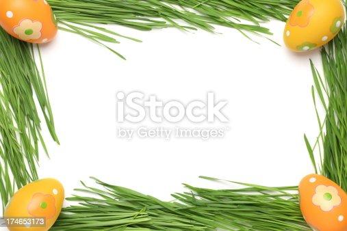 easter frame stock photo istock - Easter Photo Frames