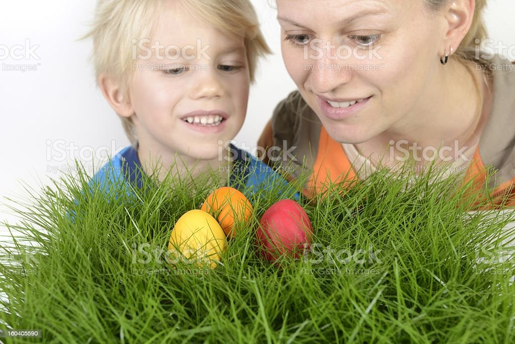 Easter fun royalty-free stock photo