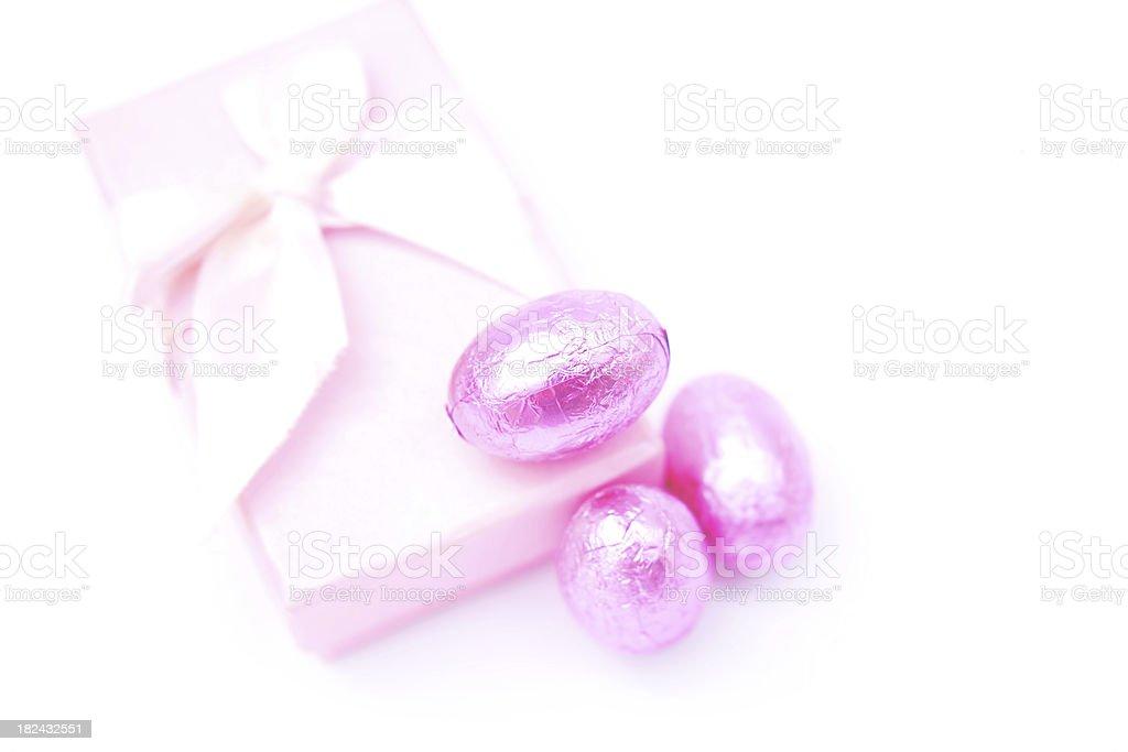 Easter gift stock photo