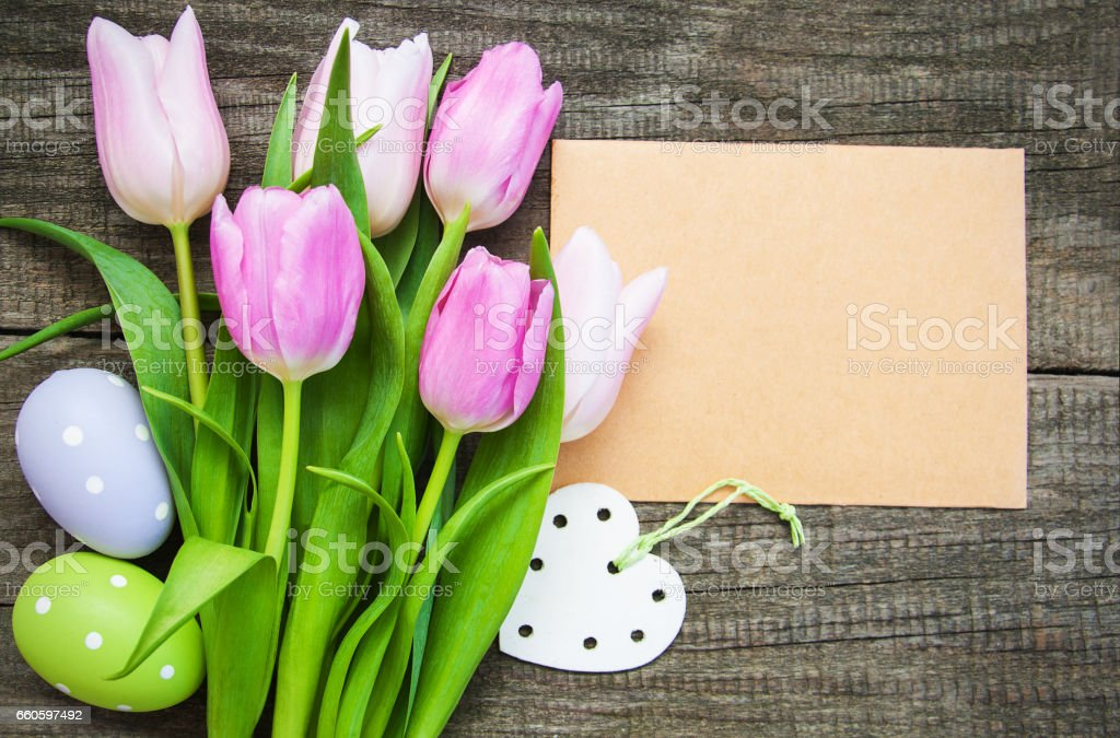 Easter greeting card royalty-free stock photo