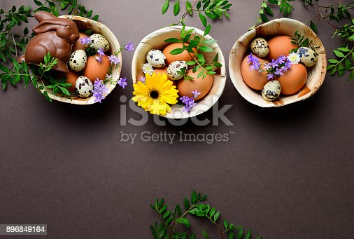 istock Easter greeting card template 896849164