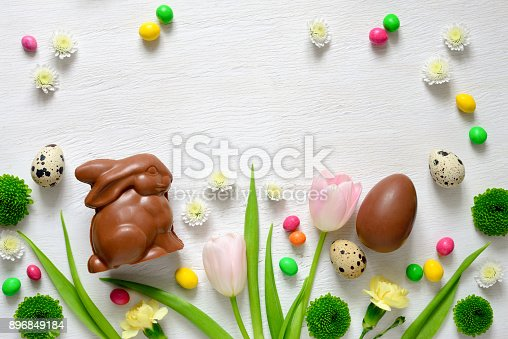istock Easter greeting card template 896849184