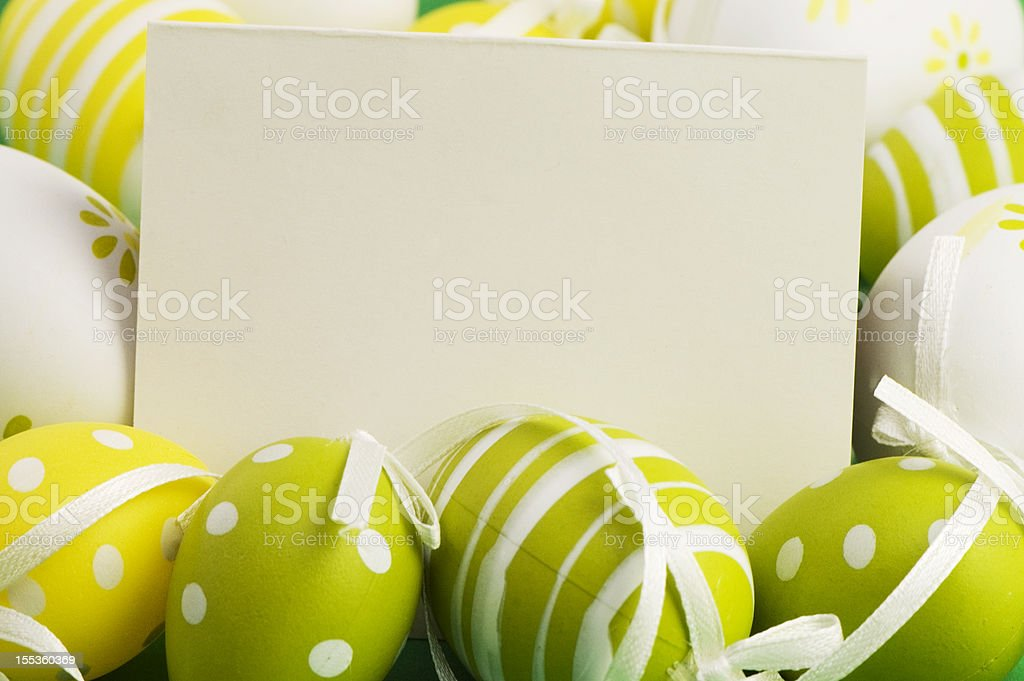 Easter Greetings royalty-free stock photo