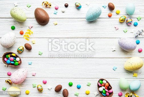 istock Easter holiday background 1210932766
