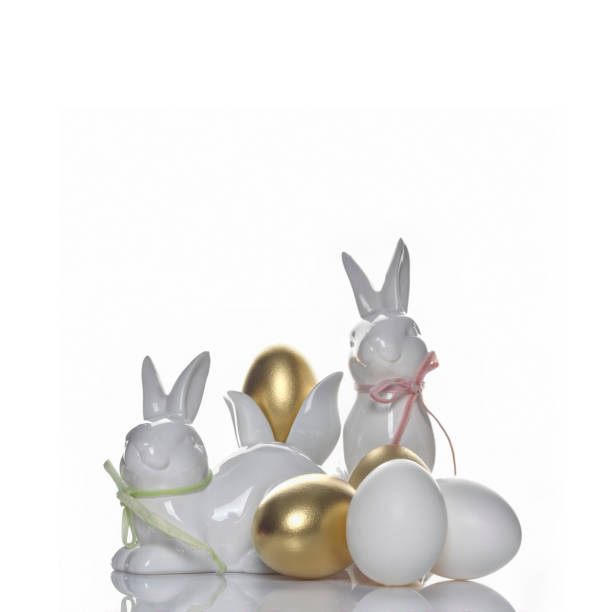 Easter holiday concept luxury background stock photo