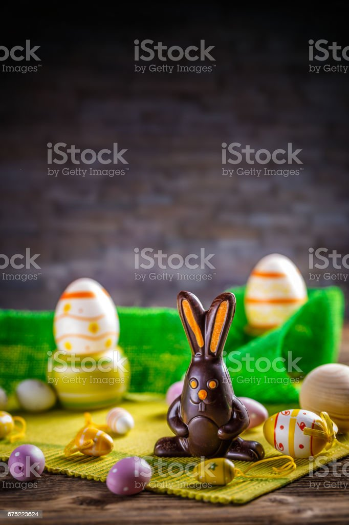 Easter holiday concept royalty-free stock photo