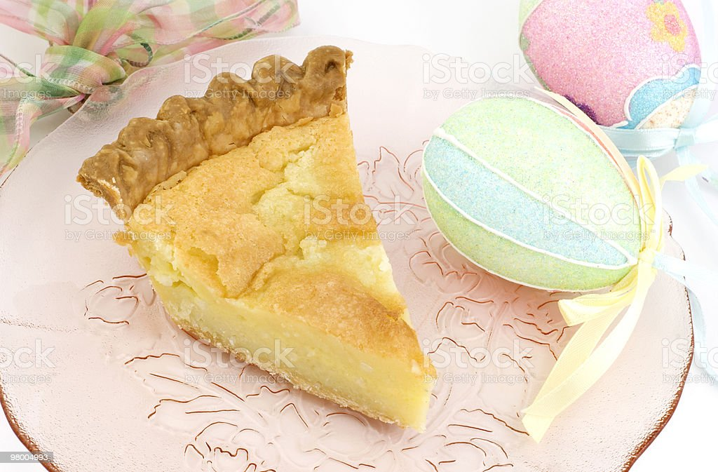 Easter Holiday Pie royalty-free stock photo
