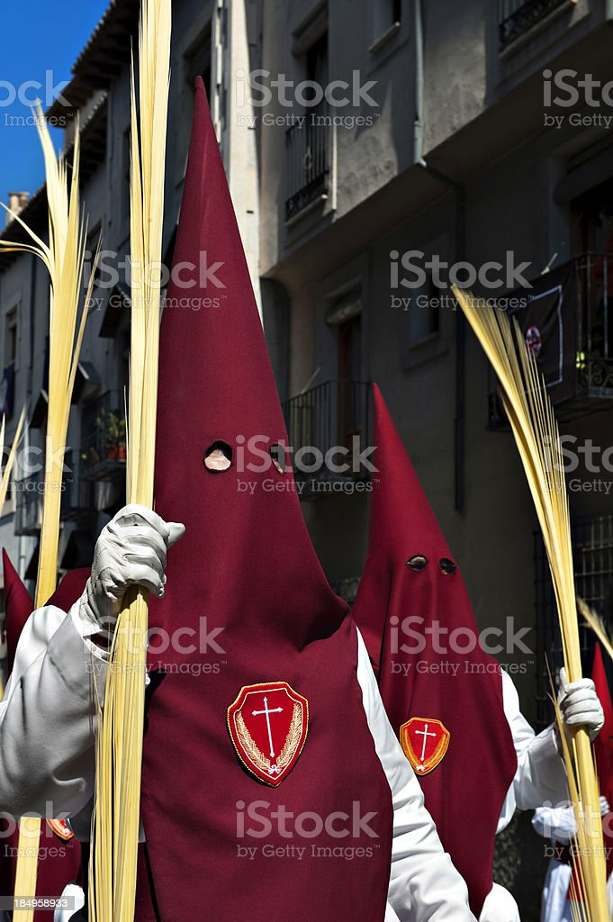 Easter Holy Week, Spain royalty-free stock photo