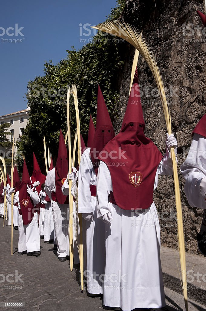 Easter Holy Week, Spain stock photo