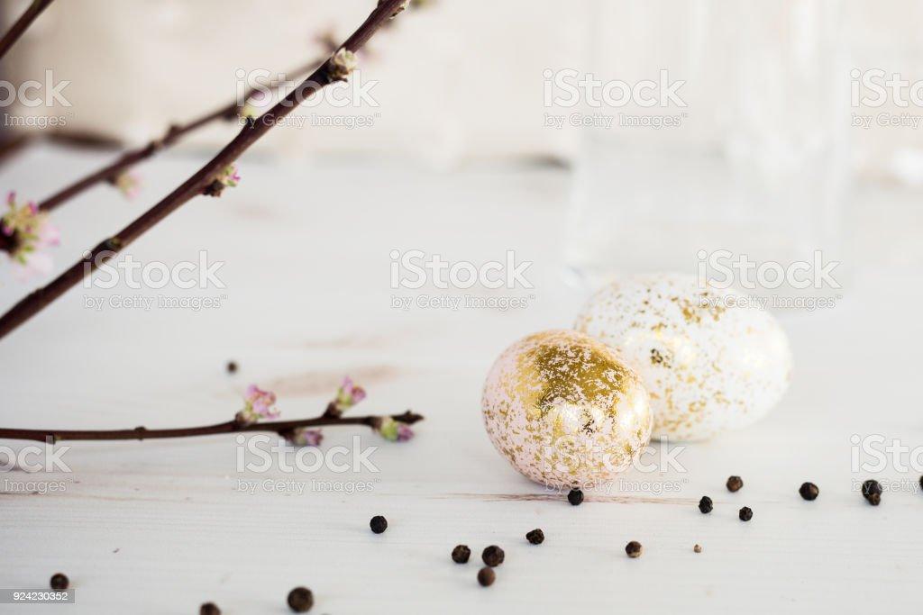 Ostern in Pink und gold – Foto
