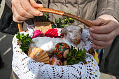 Easter in Poland -  blessing of food