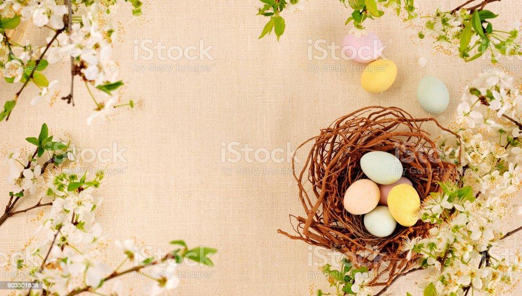 Ostern-nest – Foto