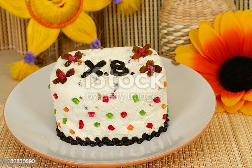 1131445181istockphoto Easter, pastries on the table. 1132830890