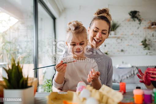 istock Easter preparation in our home 1133555356