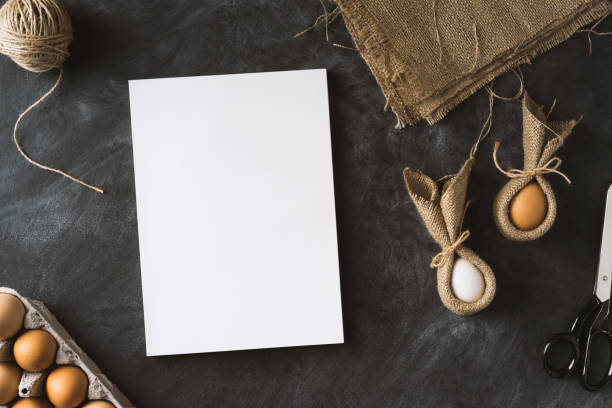 easter preparations - magazine cover stock photos and pictures
