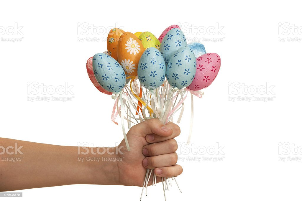 Easter presents royalty-free stock photo