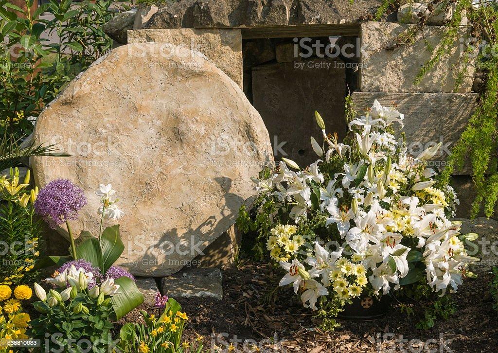 Easter Resurrection stock photo