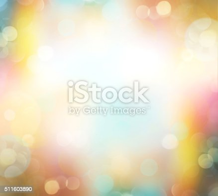 istock Easter spring blur nature colorful background empty space. 511603890