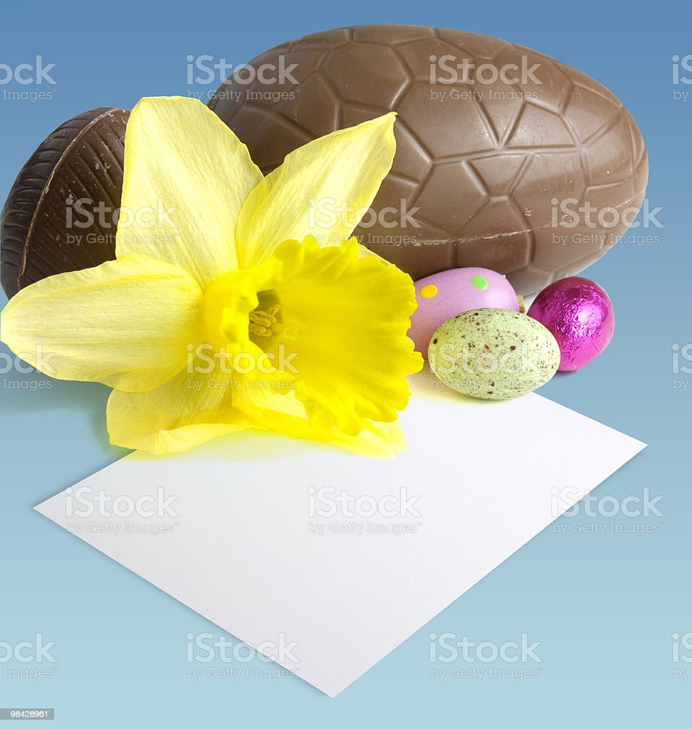 Easter still life royalty-free stock photo
