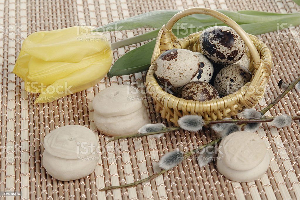 Easter still-life royalty-free stock photo