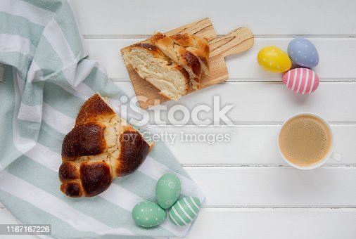 1131445181 istock photo Easter sweet bread 1167167226