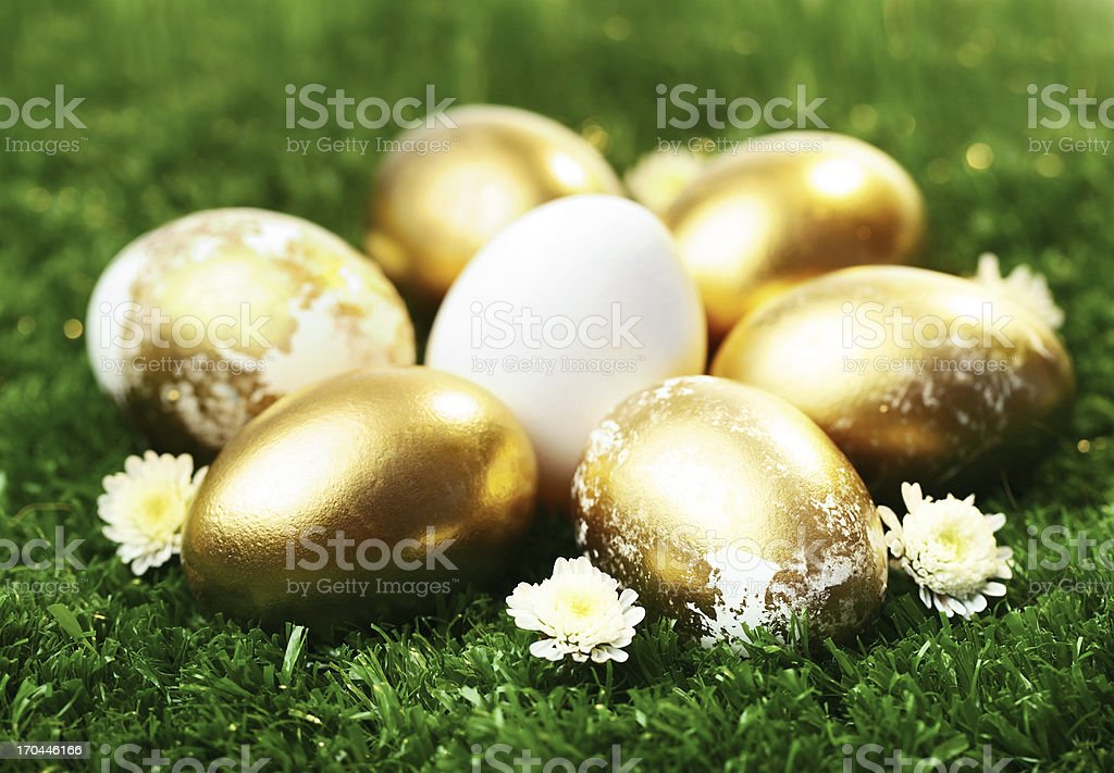 Easter symbols royalty-free stock photo