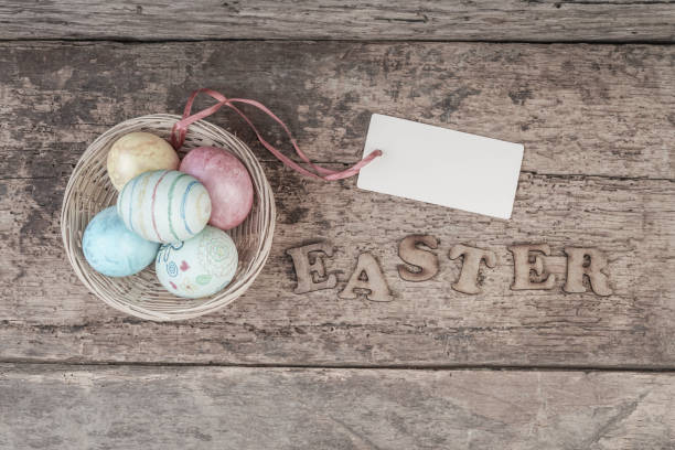 royalty free easter name tags pictures images and stock photos istock