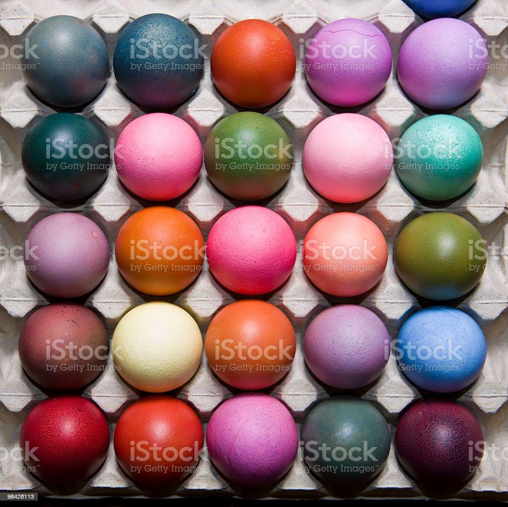 Tessuto di Pasqua foto stock royalty-free