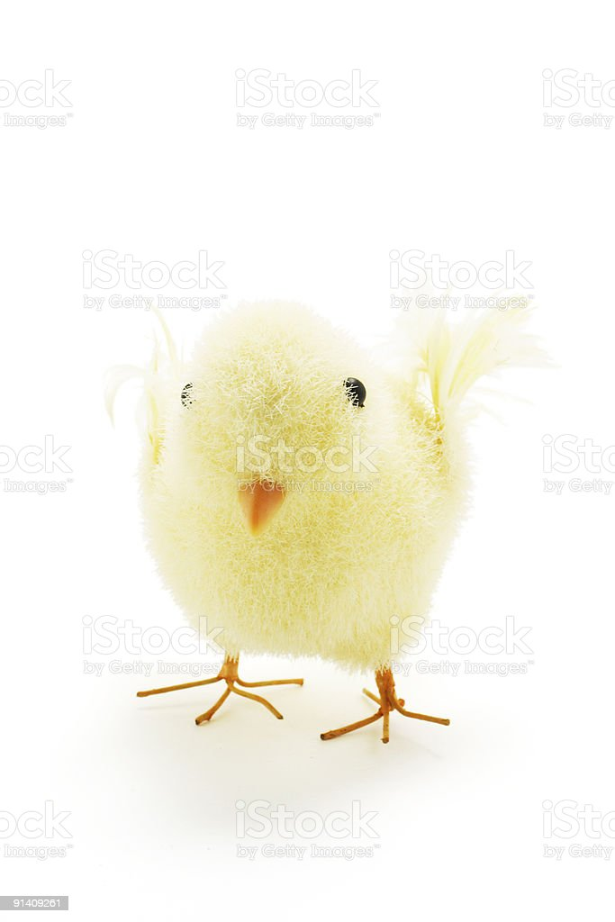 Easter Toy Chicken royalty-free stock photo