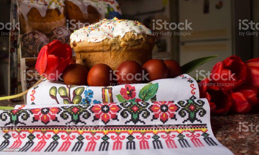 Easter treats stock photo