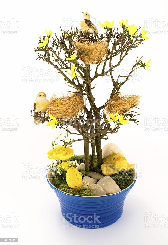 Easter tree royalty-free stock photo