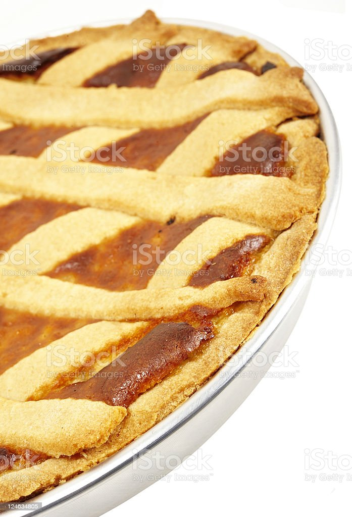 easter wheat pie royalty-free stock photo