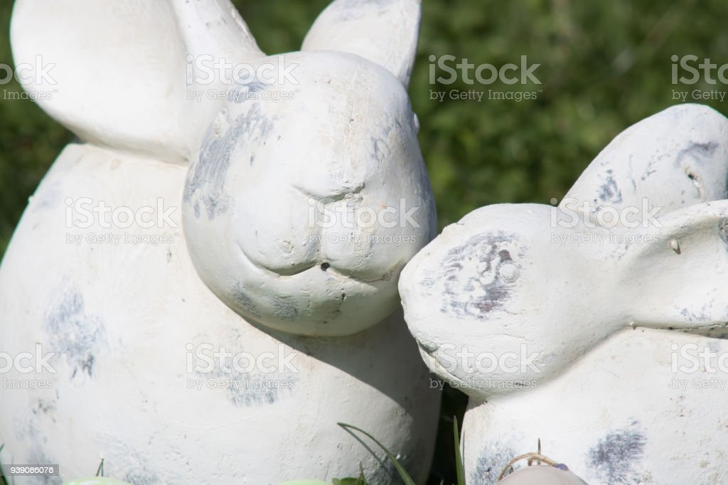 Easter wishes stock photo