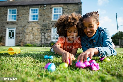 istock Easter with My Brother! 1197893626