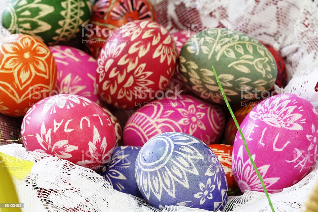 Easter-egg royalty-free stock photo