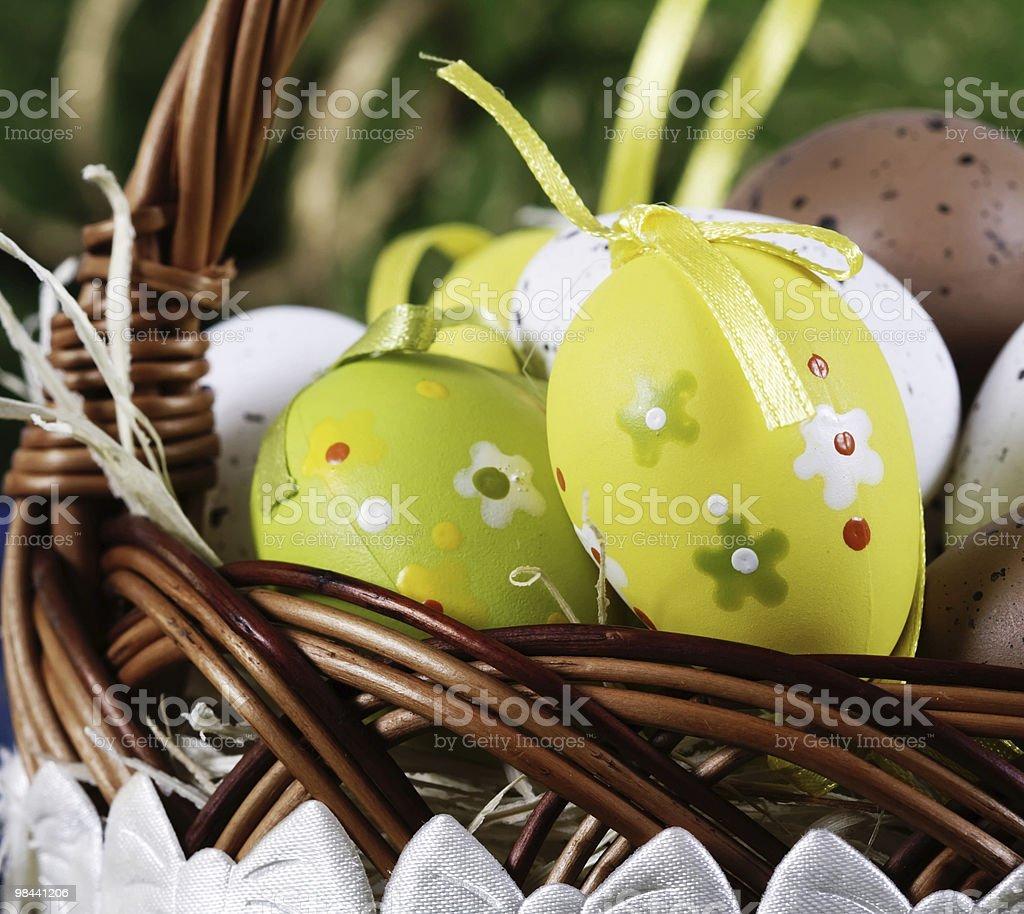 Uovo di Pasqua foto stock royalty-free