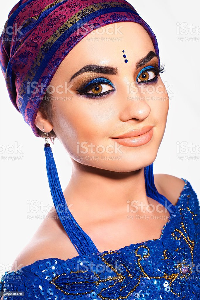 Eastern beauty royalty-free stock photo