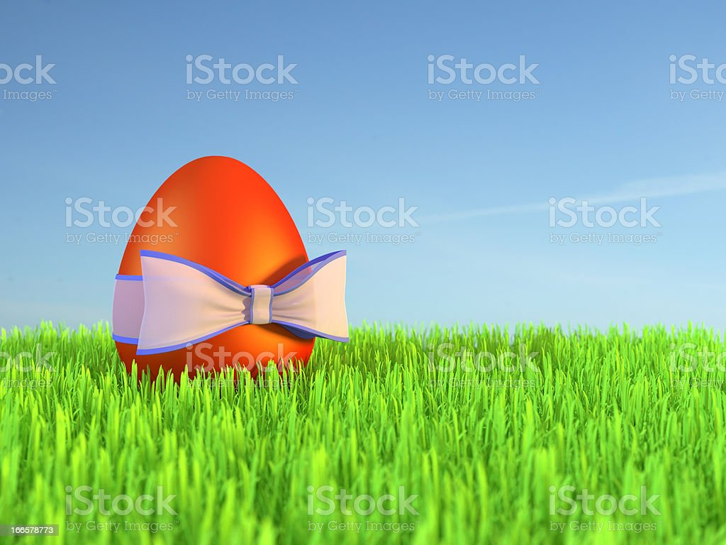 Eastern egg royalty-free stock photo