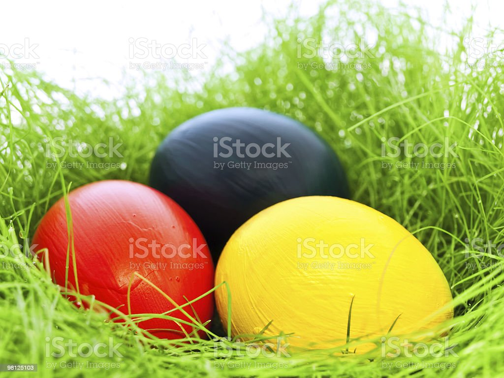 eastern eggs royalty-free stock photo